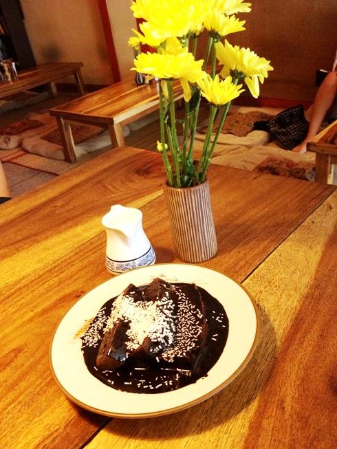 ethos vegan chocolate brownie